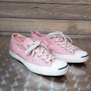 Converse Jack Parcell Pink Sneakers